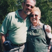 My mom Jeanette, and me. She was the librarian in my home town, Hallock, Minnesota. At least half a dozen people told me when she passed that my mom was their best friend. Nice to have so many people remember you that way.