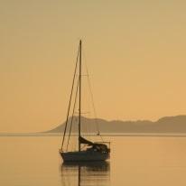 Sailboat, Loreto, Baja California, the mystical Sea of Cortez ....