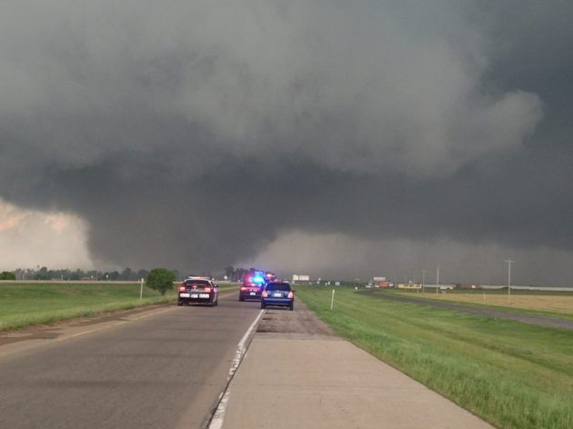 May 20, 2013 tornado that leveled parts of Moore, Oklahoma, killing more than two dozen people.