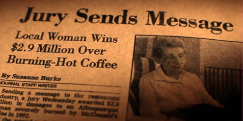 An Albuquerque woman was severely burned by a cup of McDonalds coffee in 1992 and won a nearly $3 million verdict.