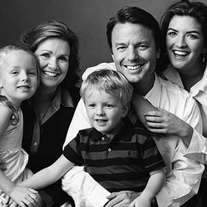 All was not as it seemed with Senator John Edwards' family man image.