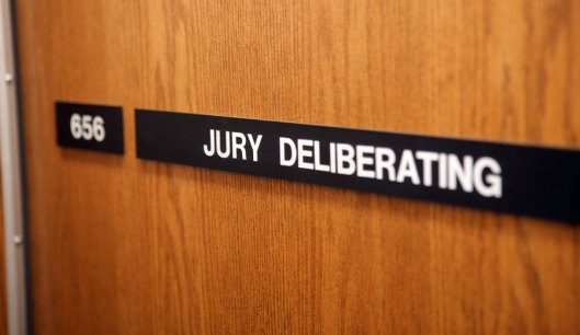 A Jury deliberation room in a USA Courthouse