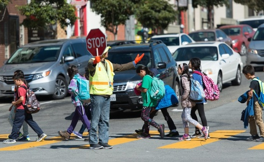 School Crossing Guards in Sunset District | September 23, 2016